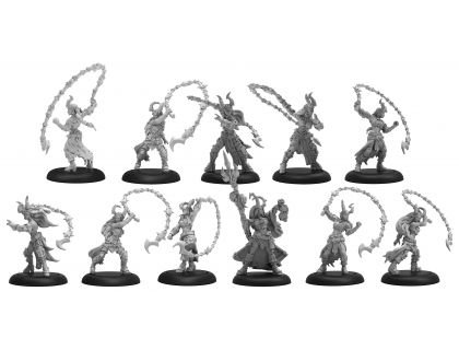 Satyxis Raiders & Sea Witch Unit & Command Attachment (resin/metal) BOX
